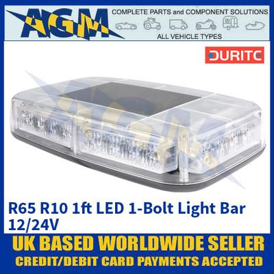 Durite 0-443-01 R65 R10 1ft LED 1-Bolt Light Bar - 12/24V