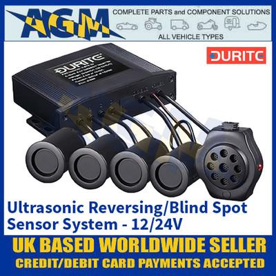 Durite 0-870-05, Ultrasonic Reversing/Blind Spot Sensor System - 12/24v