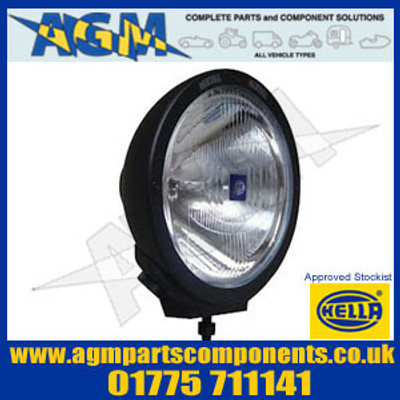 Hella 1F8 007 560-041 Black Metal Luminator Driving Lamp Inc Daytime Running Light