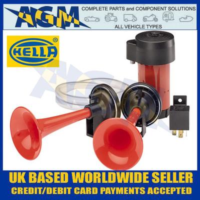 Hella 3PB 003 001-651  12  Volt Twin Air Horn Set