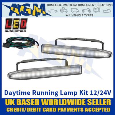 LED Autolamps LEDRL2 Daytime Running Lamp Kit - 12/24