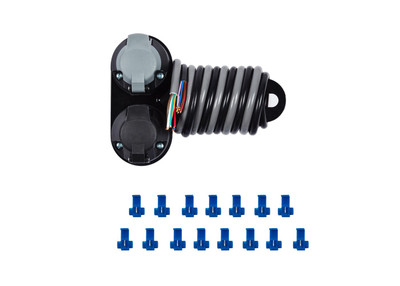 Ring RSA490 Pre-wired twin towing socket assembly with 12N and 12S Sockets