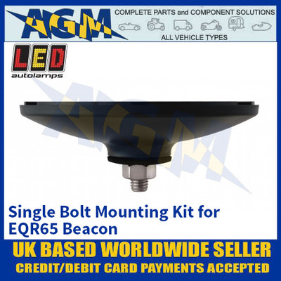 LED Autolamps Single Bolt Mounting Kit for EQR65 Beacon