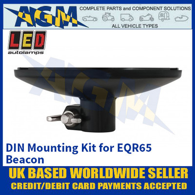 LED Autolamps DIN Mounting Kit for EQR65 Beacon