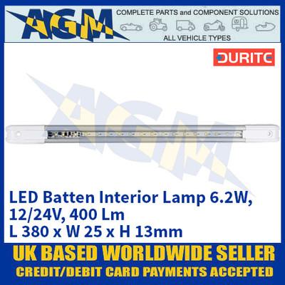 Durite 0-668-41 LED Batten Interior Lamp 6.2W - 12/24V