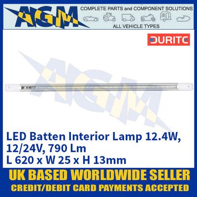 Durite 0-668-42 LED Batten Interior Lamp 12.4W - 12/24V