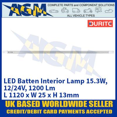 Durite 0-668-43 LED Batten Interior Lamp 15.3W - 12/24V