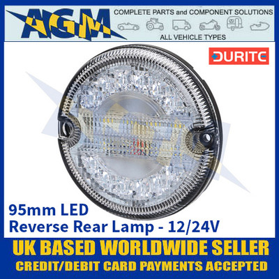 Durite 0-767-43 95mm Rear LED Reverse Lamp - 12/24V