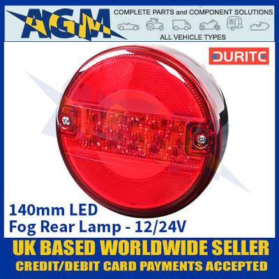 Durite 0-097-52 140mm LED Fog Rear Lamp - 12/24V