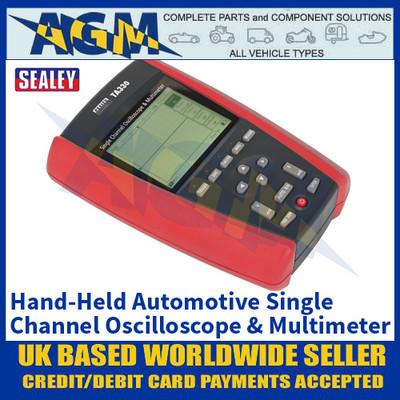 Sealey TA330 Hand-Held Automotive Single Channel Oscilloscope & Multimeter