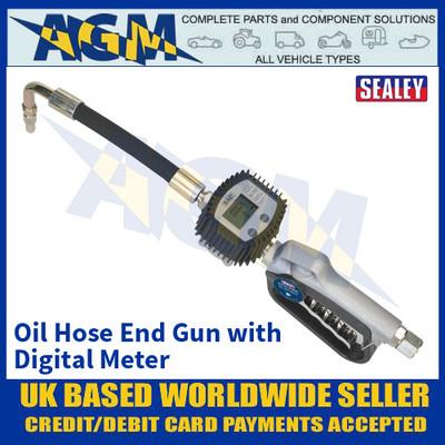 Sealey AK4565D Oil Hose End Gun with Digital Meter