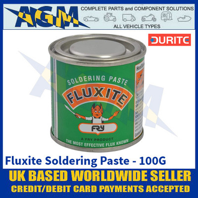 Durite 0-613-00, Fluxite Soldering Paste - 100G