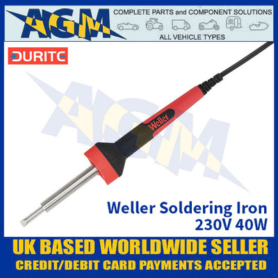 Durite 0-448-40, Weller Soldering Iron - 230V 40W