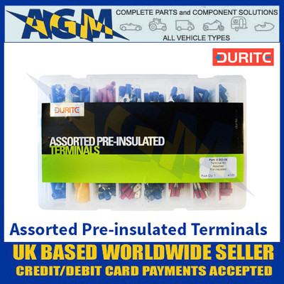Durite 0-203-06 Assorted Pre-insulated Terminals