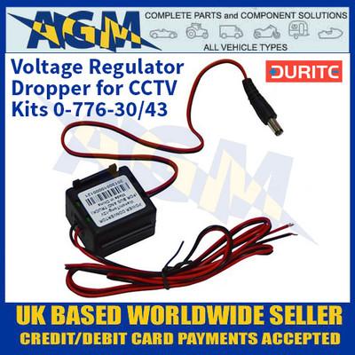Durite 0-776-86 Voltage Regulator/Dropper for CCTV Kits 0-776-30/43