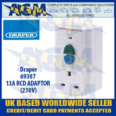 Draper 69307 RCD Safety Adaptor 230v