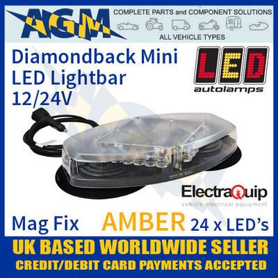 eqr65-355avm, diamondback, mini, amber, led, light, bar