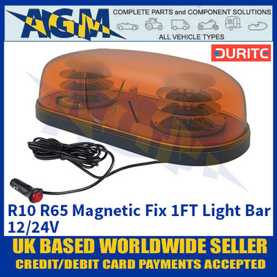 Durite 0-443-82 R10 R65 Magnetic Mount 1FT Light Bar - 12/24V