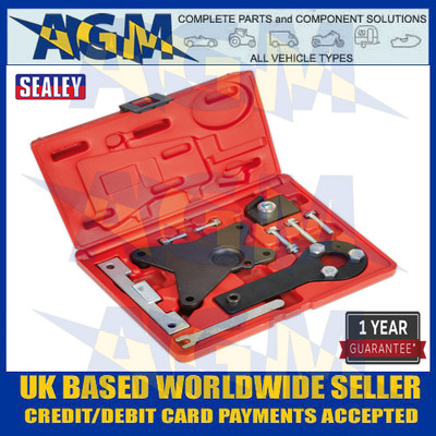 Petrol Engine Timing Tool Kit - Alfa Romeo, Fiat, Ford, Lancia 1.2, 1.4 8v - Belt Drive