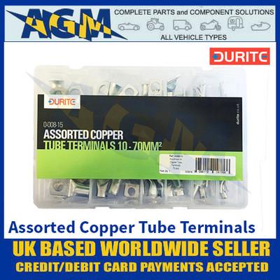 Durite 0-008-15 Assorted Copper Tube Terminals