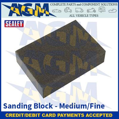 Sealey WSBMF Sanding Block - Medium/Fine