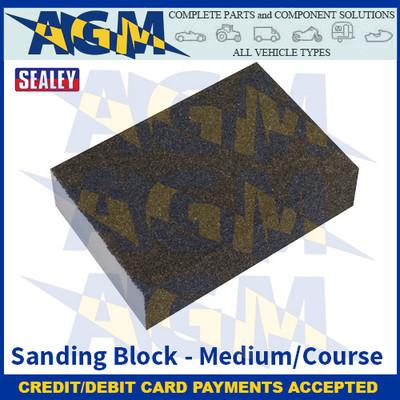 Sealey WSBMC Sanding Block - Medium/Course