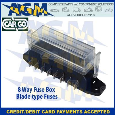 H C Cargo 191163 Fuse Box 8 way