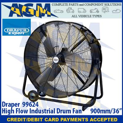 """Draper 99624 High Flow Industrial Drum Fan 900mm/36"""""""
