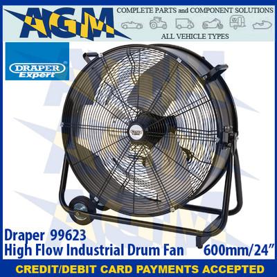 """Draper 99623 High Flow Industrial Drum Fan 600MM/24"""""""