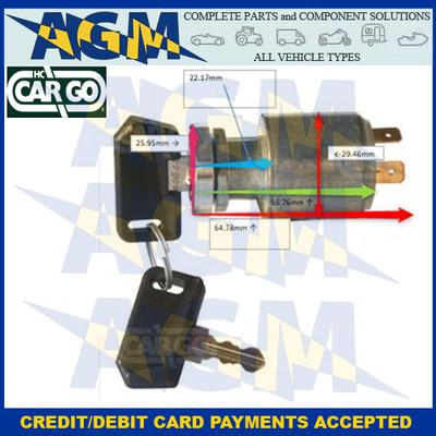 HC Cargo 180043 Popular 4 Position Ignition Switch 12/24v