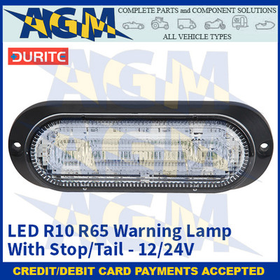 Durite 0-441-55 LED R10 R65 Warning Lamp With Stop/Tail - 12/24V