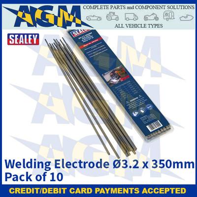 Sealey WE1032 Welding Electrode Ø3.2 x 350mm Pack of 10