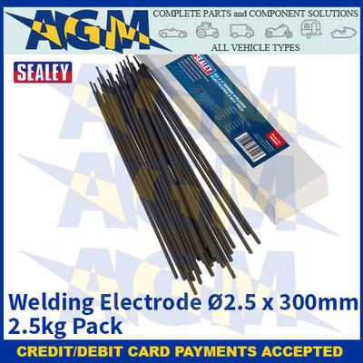 Sealey WE2525 Welding Electrode Ø2.5 x 300mm 2.5kg Pack