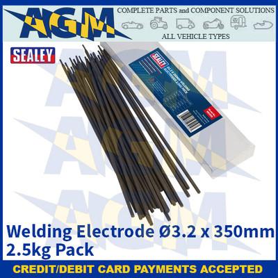 Sealey WE2532 Welding Electrode Ø3.2 x 350mm 2.5kg Pack