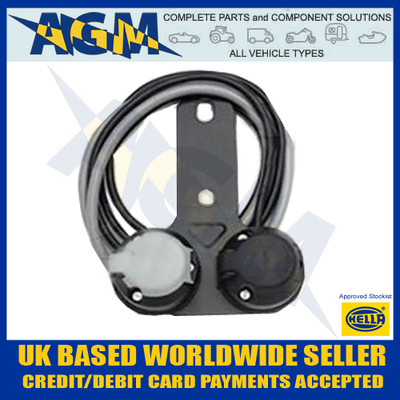hella, pre-wired, twin, towing, socket, 12n,12s, sockets, trailer, caravan