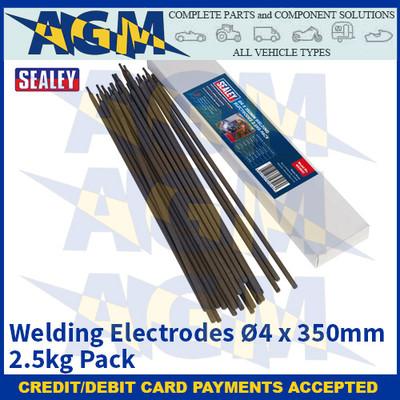 Sealey WE2540 Welding Electrodes Ø4 x 350mm 2.5kg Pack