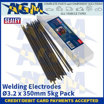 Sealey WE5032 Welding Electrodes Ø3.2 x 350mm 5kg Pack