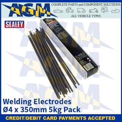 Sealey WE5040 Welding Electrodes Ø4 x 350mm 5kg Pack
