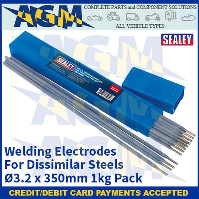 Sealey WED1032 Welding Electrodes Dissimilar Ø3.2 x 300mm 1kg Pack