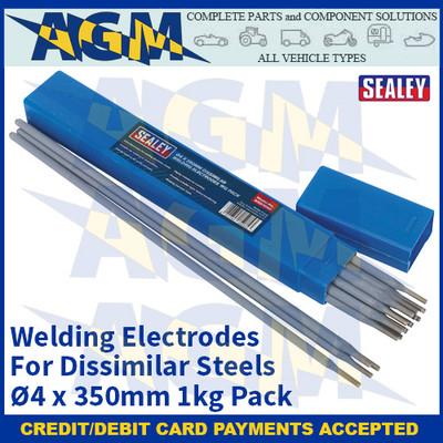 Sealey WED1040 Welding Electrodes Dissimilar Ø4 x 350mm 1kg Pack