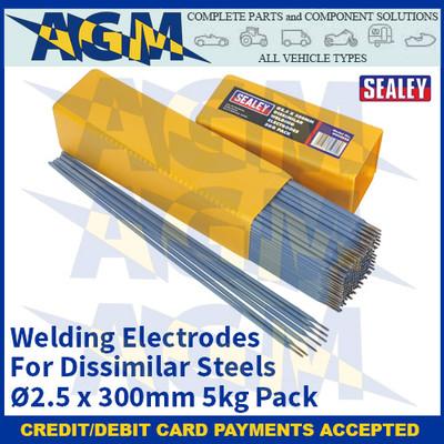 Sealey WED5025 Welding Electrodes Dissimilar Ø2.5 x 300mm 5kg Pack