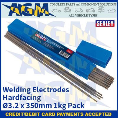 Sealey WEHF1032 Welding Electrodes Hardfacing Ø3.2 x 350mm 1kg Pack