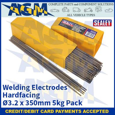 Sealey WEHF5032 Welding Electrodes Hardfacing Ø3.2 x 350mm 5kg Pack