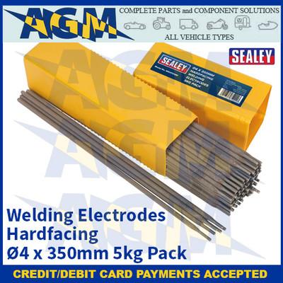 Sealey WEHF5040 Welding Electrodes Hardfacing Ø4 x 350mm 5kg Pack
