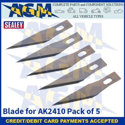 Sealey AK2410.B Blade for AK2410 Pack of 5
