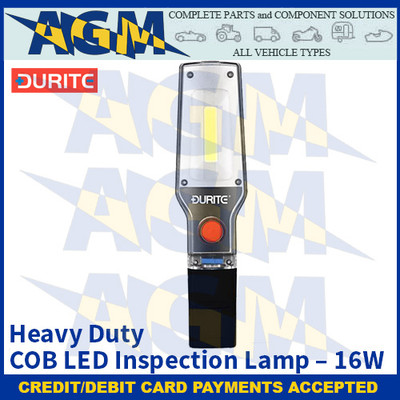 Durite 0-699-63 Heavy Duty COB LED Inspection Lamp – 16W