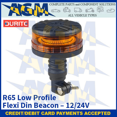 Durite 0-445-54 R65 Low Profile Flexi Din Beacon - 12/24V