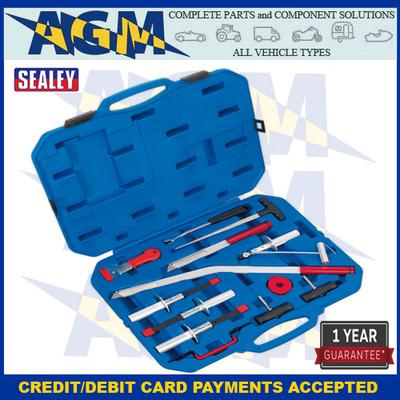 Sealey WK14   Windscreen Repair Kit 14 Piece