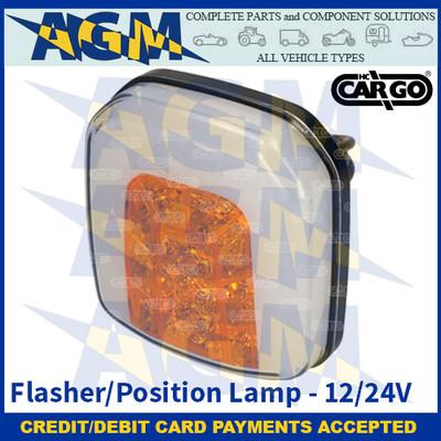 CARGO 172239 Flasher/Position LED Lamp - 12/24V
