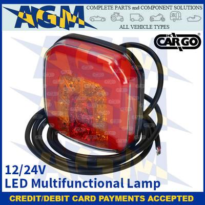 CARGO 172240 LED Multifunctional Lamp - 12/24V